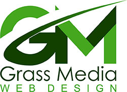 Grass Media Web Design Logo
